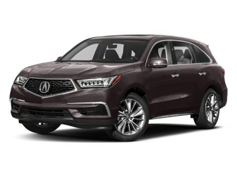 New 2018 Acura MDX w/Technology Pkg AWD
